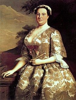 Mrs charles willing by robert feke 1746