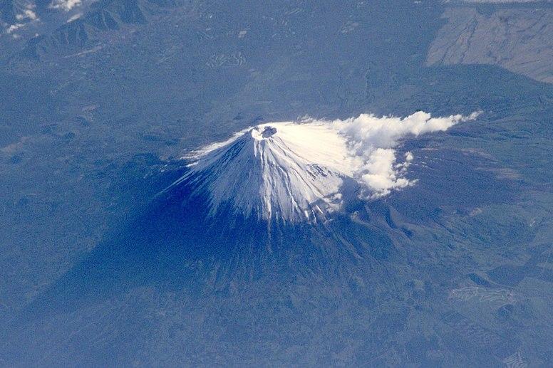 Mt Fuji ESC large ISS002 ISS002-E-6971 1650x1100