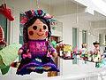 Museo de Arte Popular- pinata of traditional doll.jpg