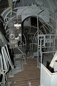 Museo dell'Aeronautica Gianni Caproni S.79 interior.JPG