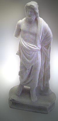 Statue of Asclepios Museum of Anatolian Civilizations, Ankara