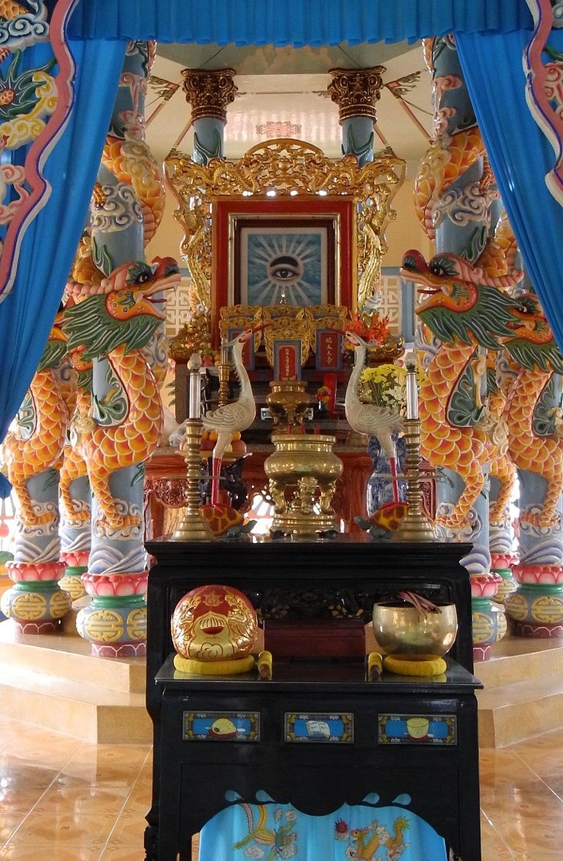 My Tho - Cao Dai Temple 06