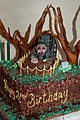 My Zombie birthday cake.jpg