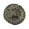 Mynt av silver. 2 öre. 1573 - Skoklosters slott - 109010.tif