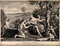 Myrrha (half woman half tree) giving birth to Adonis assiste Wellcome V0014972.jpg