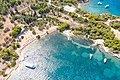 Myrtoan Sea at Zogeria Beach on Spetses, Greece (48759815133).jpg