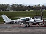 N310HM Cessna 310 (26196942663).jpg