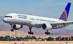 N558UA United Airlines 1992 Boeing 757-222 C-N 26654 (7007854557).jpg