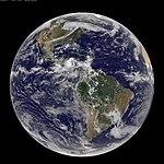 NASA GOES-13 Full Disk view of Earth September 24, 2010 (5021482046).jpg
