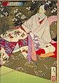 NDL-DC 1301527 01-Tsukioka Yoshitoshi-新撰東錦絵 おさめ遊女を学ぶ図-明治19-crd.jpg
