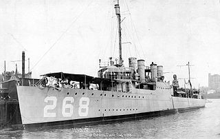 USS <i>Shubrick</i> (DD-268)
