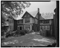 NORTH FRONT FROM NORTHWEST - Arkwright House, 1585 Ponce DeLeon Avenue, Atlanta, Fulton County, GA HABS GA,61-ATLA,58-4.tif