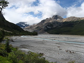 river in Alberta and Saskatchewan