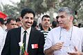 Nabeel Rajab along with Abdulhadi Alkhawaja at a pro-democracy march.jpg