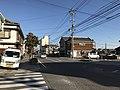 Nagasaki Prefectural Road No.58 in Shimabara, Nagasaki.jpg