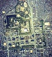 Nagoya Castle aerial photo