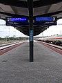 Nagytétény-Diósd vasútállomás, tájékoztató tábla, 2020 Nagytétény.jpg