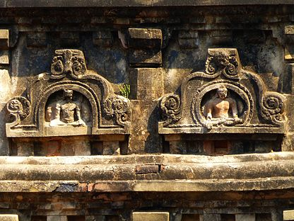 Nalanda - 019 Images on Tower (9250916531).jpg