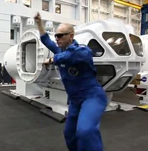 "Gangnam Style - Clayton Anderson, flight engineer of the International Space Station's 15th expedition dances ""Gangnam Style"" in a parody uploaded by the space agency NASA"