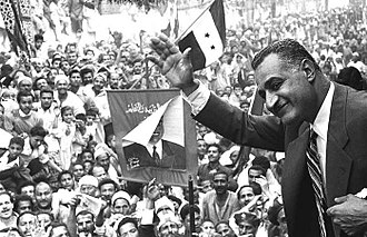 Arab street - Egyptian president Gamal Abdel Nasser was described as enjoying the admiration of the 'street'