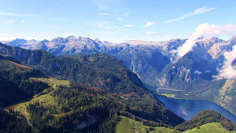 Nationalpark berchtesgaden blick steinernes meer vom jenner ds wv 09 2011