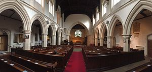 St Mary's Church, Watford - The Nave of Saint Mary's