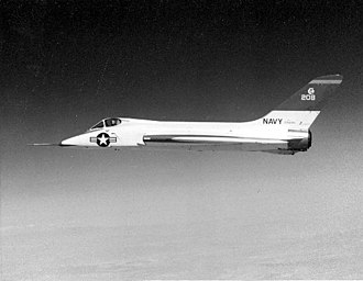 Douglas F5D Skylancer - Douglas F5D Skylancer prototype in use by NASA for Dyna-Soar abort training