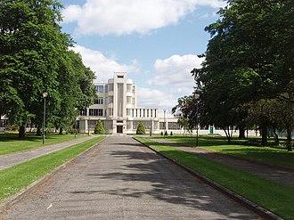 Hayes, Hillingdon - Nestlé Factory and driveway