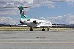 Network Aviation (VH-NHM) Fokker 100 taxiing at Wagga Wagga Airport (2).jpg