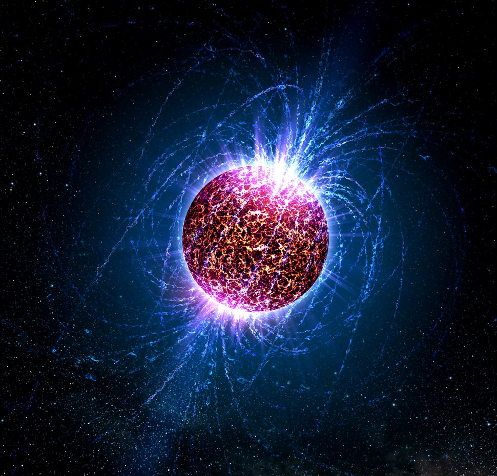 Neutron star illustrated