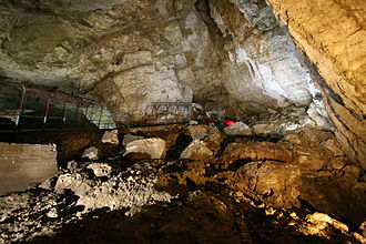 New Athos Cave - View of the cave