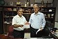 New DG Anil Shrikrishna Manekar And Retired DG Ganga Singh Rautela - NCSM - Kolkata 2016-02-29 1817.JPG