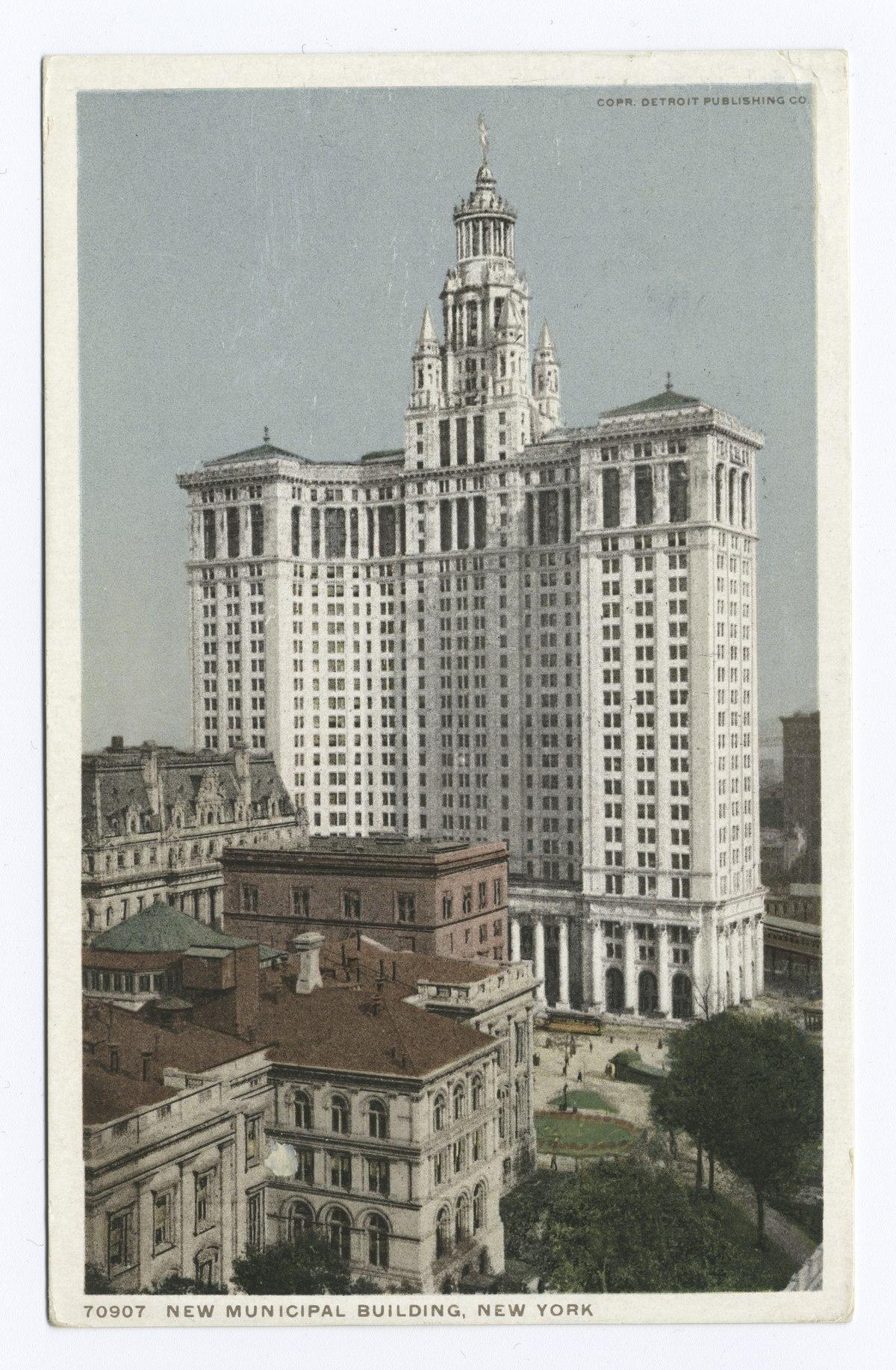 Manhattan Municipal Building: Vikipeedia, Vaba Entsüklopeedia