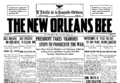 New Orleans Bee 1917 04 07 frontpage.png