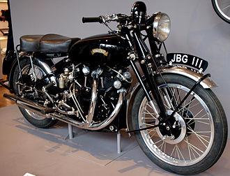 Vincent Motorcycles - Vincent Series C Black Shadow