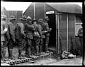 New Zealand troops drawing pay at the reinforcement camp before going on leave (21421926868).jpg