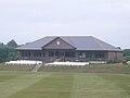 Newclose County Cricket Ground pavillion.JPG