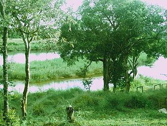 Crocodile River (Mpumalanga) - Image: Ngwenya Lodge view on Crocodile River, 2011 02 23
