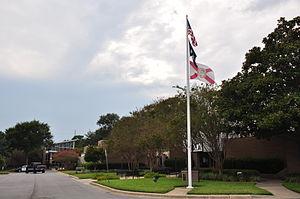 Niceville, Florida - Niceville City Hall, September 2014.