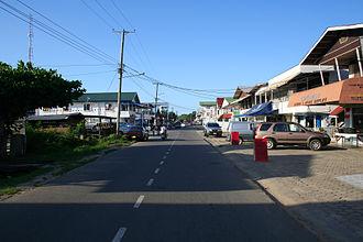 Nieuw Nickerie - Street in Nieuw Nickerie