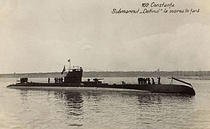 Black Sea campaigns (1941–44) - Romanian submarine Delfinul