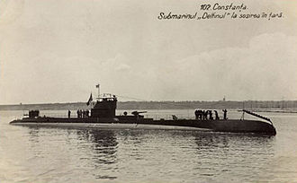 "Romanian Naval Forces - NMS Delfinul, the only Axis submarine in the Black Sea in 1941, acted mainly as a ""ship-in-being"" due to its obsolescence and sank only one unescorted merchant ship."