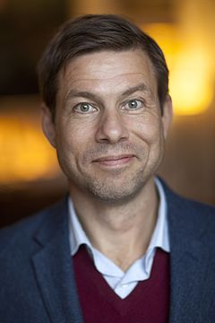 Niklas Orrenius i november 2016