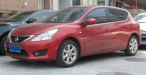 Dongfeng Motor Corporation - A Dongfeng-built Nissan Tiida
