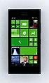 Nokia Lumia 730, Startbildschirm.JPG