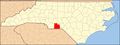 North Carolina Map Highlighting Anson County.PNG