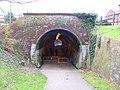 North East end of Newport, Railway tunnel. - geograph.org.uk - 85991.jpg