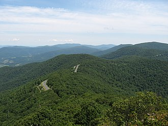 Shenandoah National Park North from Little Stony Man - panoramio.jpg