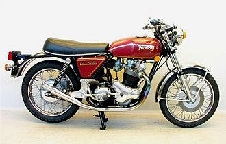 Norton Motorcycle Company - 1973 850 Commando