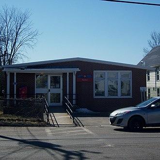 Norton, New Brunswick - Norton Post Office (2013)